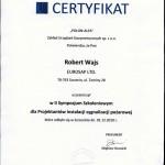 Certyfikat POLON-ALFA